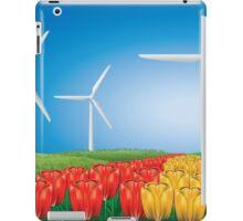Wind turbine 2 iPad Case/Skin