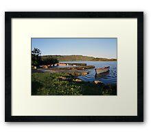 Inchiquin lake Framed Print
