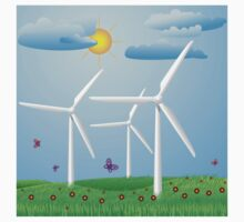Wind turbines Kids Clothes