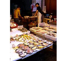 Fish market, Mong Kok, Hong Kong Photographic Print