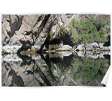 Black Canyon Reflections Poster