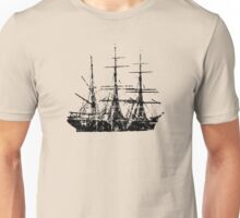 Sailing Ship Vintage Unisex T-Shirt