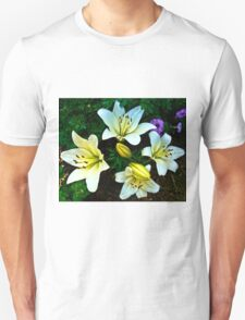 White Lily in the garden T-Shirt