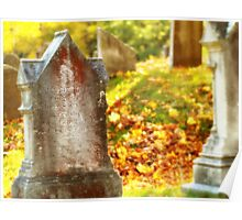 NewEngland Cemetary  Poster