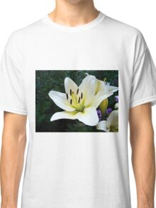 White Lily in the garden 4 Classic T-Shirt