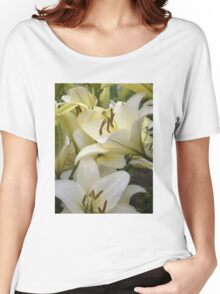 White Lily in the garden 7 Women's Relaxed Fit T-Shirt