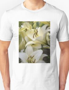 White Lily in the garden 7 T-Shirt