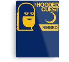 The Hooded Guest Condoms Metal Print