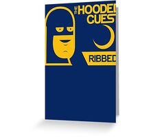 The Hooded Guest Condoms Greeting Card