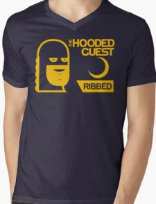 The Hooded Guest Condoms Mens V-Neck T-Shirt