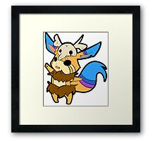 Gnar League of Legends Art Framed Print