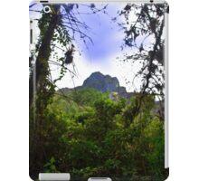 Mountain Overlooking San Fernando, Ecuador iPad Case/Skin