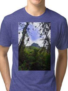 Mountain Overlooking San Fernando, Ecuador Tri-blend T-Shirt