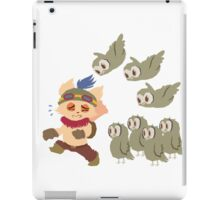 God Damn Owls Teemo Art iPad Case/Skin