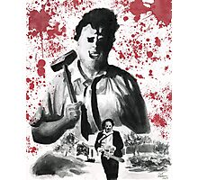 They Call Him Leatherface Photographic Print