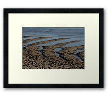 Tidal Estuary Framed Print