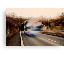 Speedy Bus Canvas Print