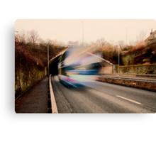 Speedy Bus Canvas Print
