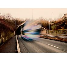 Speedy Bus Photographic Print
