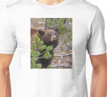 Black Bear with Cinnamon Color Unisex T-Shirt