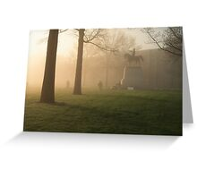 West Point on Sandhurst Morning Greeting Card