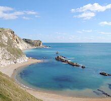 Man of War Bay - West Lulworth, Dorset, UK by Photography by Mathilde