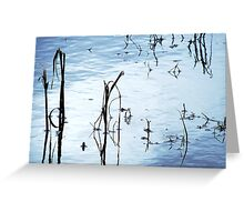 Chill Waters Greeting Card