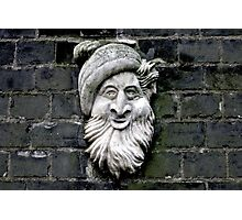 Quirky bearded man Photographic Print