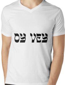 OY VEY Mens V-Neck T-Shirt