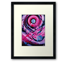 COSMIC  TWINS Framed Print