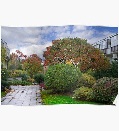 Autumn in my street (VILNIUS) Poster