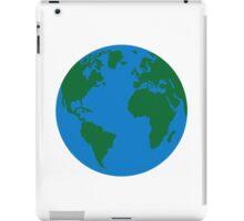 Globe Earth World map iPad Case/Skin