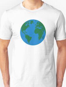 Globe Earth World map T-Shirt