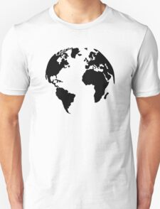 Earth world map T-Shirt
