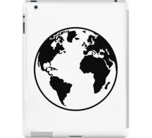 Globe Earth World iPad Case/Skin