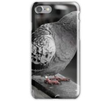 Red eyed market pigeon iPhone Case/Skin