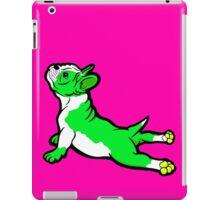Boston Bull Terrier Puppy Green  iPad Case/Skin