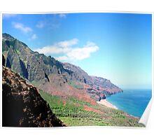 Kalalau Valley, Kauai Poster