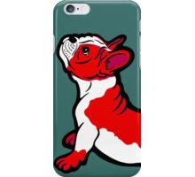 Boston Bull Terrier Puppy Red iPhone Case/Skin