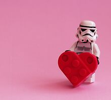 Trooper's Heart - Valentine, Birthday, Mother's Day Card by AdTheBad