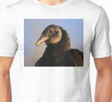 Black Vulture & Blue Sky Unisex T-Shirt