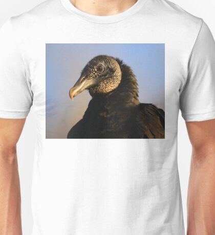 Black Vulture & Blue Sky Unisex T-Shirt