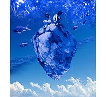 Naissances bleues Photographic Print