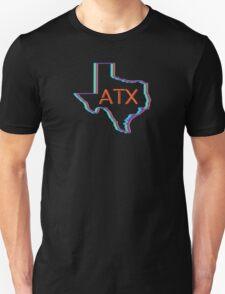 ATX Austin Texas Neon Lights Retro Unisex T-Shirt