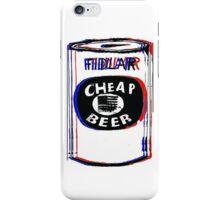 Fidlar Cheap Beer iPhone Case/Skin
