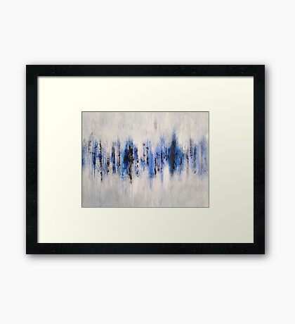Abstract Sound Framed Print