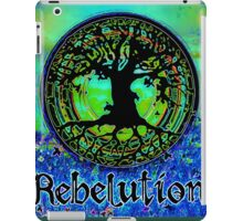 Rebelution Tree of Life #2 'Illuminated Side of Life' Beautiful Vibrant Moonlit SkyScape Band Art Psychedelic Landscape Design by CAP iPad Case/Skin