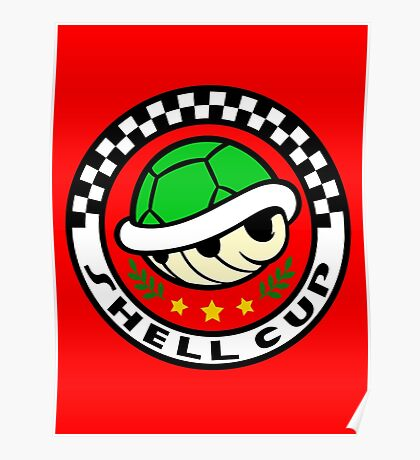 Shell Cup Poster