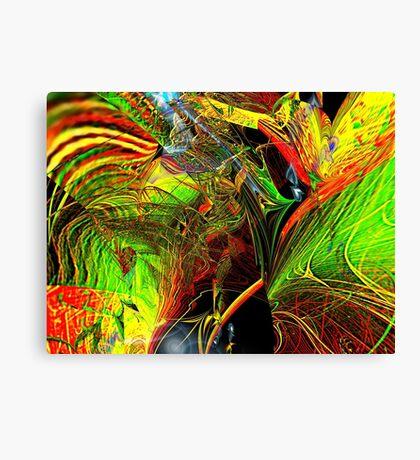 Three Layer Blender #2: Brainheart abstract (UF0362) Canvas Print