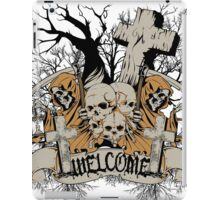 Welcome to the Cemetery iPad Case/Skin